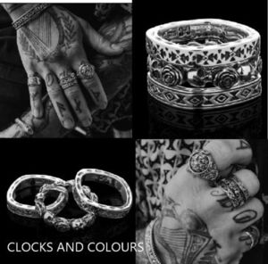 ★ CLOCKS AND COLOURS ★  MILAGROS 指輪
