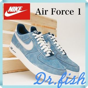 NIKE Air Force 1 Low Dusty Blue Suede/ナイキ エアフォース1