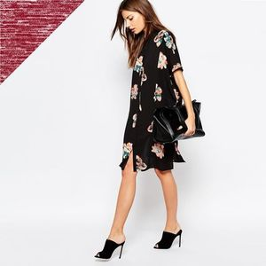 関税送料込☆ASOS☆Vila Printed Floral Dress