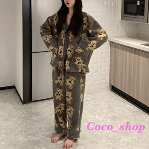 Coco_shop♥くま パジャマセット♥2color