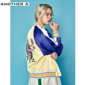 【ANOTHER A】正規品★韓国人気★スカジャン YE×BU(追跡配送)