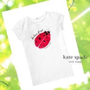 関税込☆Kate Spade Girls' Ladies First TeeTee★日本未サイズ