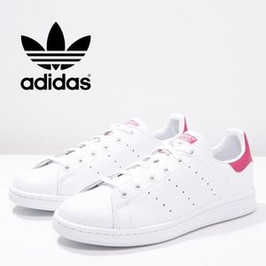 大人もOK!!【adidas Originals】Stan Smith ピンク 22cm~