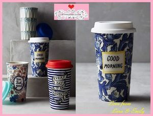 15AW最安値*送料込【Anthro】Sweet Salutation Travel Mug