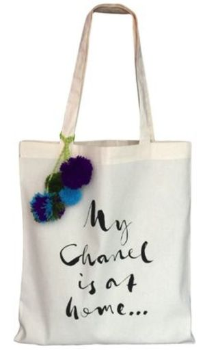 ★Bag-all★MY CHANEL IS AT HOME SHOPPING TOTE