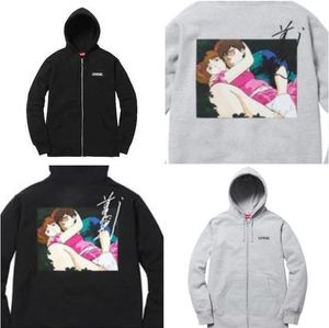 即日発送☆ Supreme - Overfiend Date Zip up Hoodie Sweater