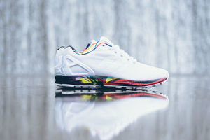 【送料無料】Adidas Originals ZX Flux - White★限定