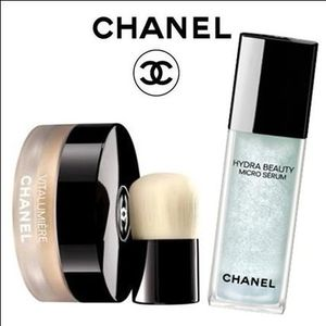 ☆プルツヤ☆【CHANEL】MICRO SERUM&LOOSE POWDER FOUNDATION