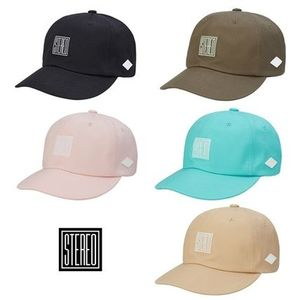STEREO VINYLS COLLECTION★ [AG] Square Stereo 6P Ball Cap