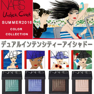 NARS x Konstantin Kakanias 「UndeR CoveR」アイシャドー 2点