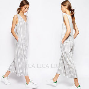 送料無料・国内発送ASOS Jersey Jumpsuit with Wide Leg