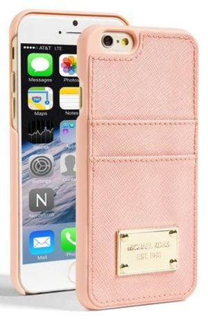 【MICHAEL Michael Kors】iPhone6 カード入付レザーケース