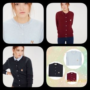 ★NEW ARRIVALS★MAISON KITSUNE【MERINOS FANCY CARDUGAN★