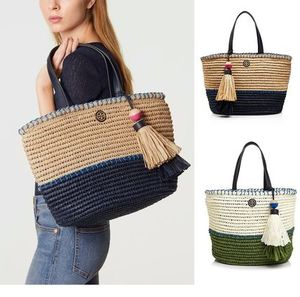 SALE!☆Tory Burch☆かごバッグ☆STRAW SMALL TOTE☆2色あり