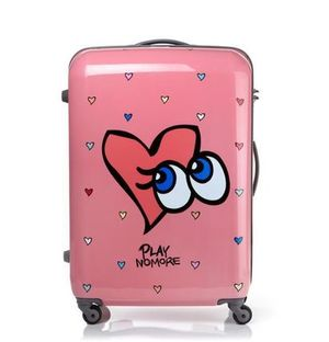 [EMS][SAMSONITE RED x PLAYNOMORE] LOVE SHYGIRL 28in(+カバー)