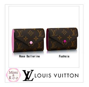 Louis Vuitton*モノグラム*PORTEFEUILLE VICTORINE*2つ折り財布
