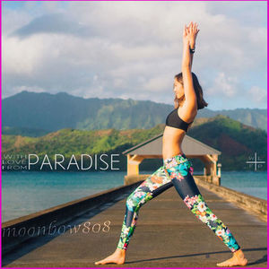【日本未入荷】WITH LOVE FROM PARADISE TROPIC LEGGINGS 改良型