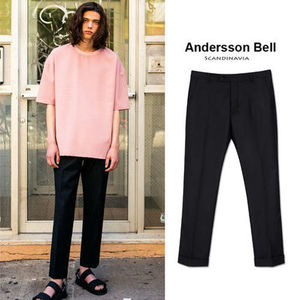 ANDERSSON BELL正規品★Serge Turn-up パンツ★メンズ