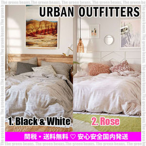 ★New★Urban Outfitters 掛け布団カバー (綿・シングル)