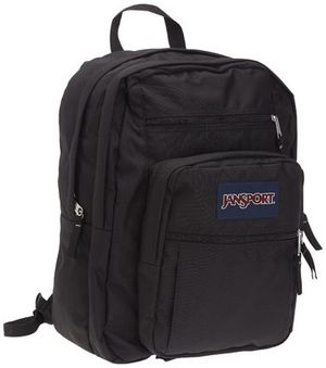 [国内即発]  JANSPORT BIG STUDENT backpack BLACK  即納