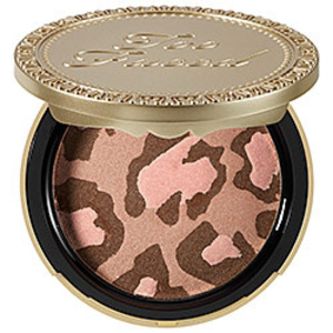 Too Faced☆Pink Leopard Blushing Bronzer☆ブロンザー