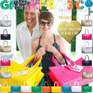 【日本初上陸☆NEW TREND】Great Bag Co. MODEL M.トート 9色