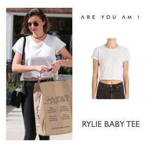 【ARE YOU AM I】ミランダ・カー愛用♪RYLIE ベイビー TEE☆★