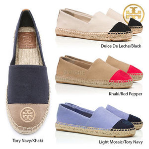 【Tory Burch】Color-block Flat Espadrilleエスパドリーユ*4色