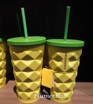 ハワイ限定! STARBUCKS-Pineapple Stainless Steel Cold Cup