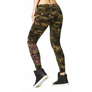 レア!ラスト!☆ZUMBA☆Camo Perfect Long Leggings SF