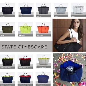 AU直送【State of Escape】トートバッグ全色 ロンハーマン取扱