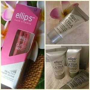 ellips cuticleserum50mlx1&ultra8mlx3 ヘアケアset プレ有