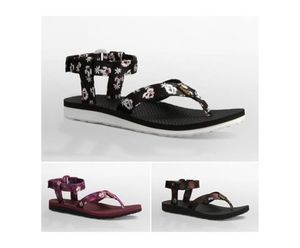 ★Teva テバ Womens ORIGINAL SANDAL FLORAL (SATIN) サンダル★