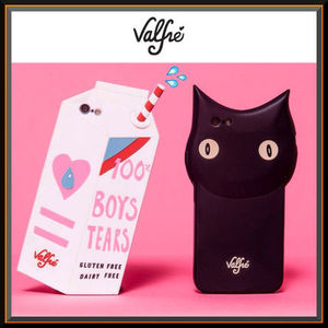 話題沸騰中!!Valfre iPhone5s,6 ケース 3D 黒猫