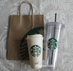 【限定】STARBUCKS-venti cold & reusable タンブラーセット