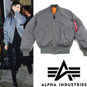 ●ALPHA INDUSTRIES● MA-1 Flight Bomber ジャケット Gun Metal