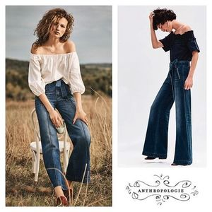 Anthropologie - Pilcro High-Rise Palazzo Jeans【ジーンズ】