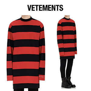 VETEMENTS(ヴェトモン) Striped Cotton T-Shirt