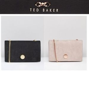 TED BAKER スエード クロスボディバッグ
