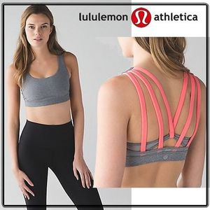 国内発/送料込!lululemon☆Energy Bra ブラ heathered slate
