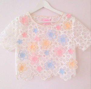 LoveMeTender Rhapsody★White Lace Sweet Blossom トップ