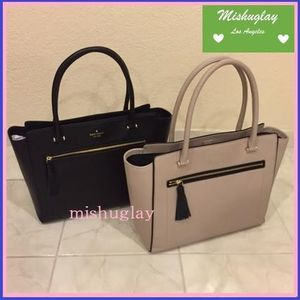 【kate spade】9月発表★可愛いタッセル付♪A4収納トートallyn