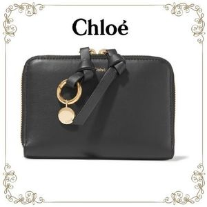 【16AW最注目!】★Chloe★Alphabet leather wallet
