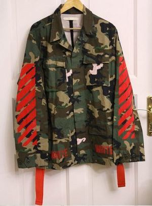 【関税負担】 OFF WHITE 15AW CAMOUFLAGE FIELD JACKET