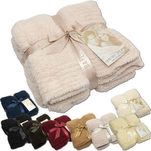 Barefoot Dreams 402(503) cozychic throw ブランケット