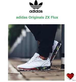 おしゃれ adidas Originals ZX Flux