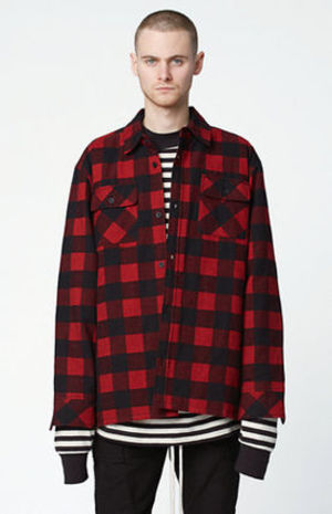 FOG- Fear Of God Plaid Flannel Shacket[即発][送料無料][新作]
