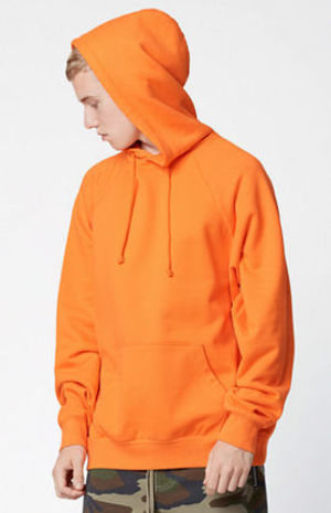 FW16 FOG FEAR OF GOD PULLOVER HOODIE ORANGEオレンジ 送料無料