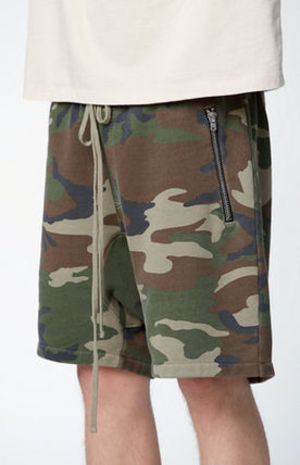 FW16 FEAR OF GOD DRAWSTRING SHORTS CAMO S-XL 送料無料