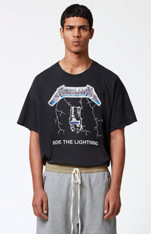 FW15 FEAR OF GOD METALLICA BOXY T-SHIRTS BLACK S-XL 送料無料